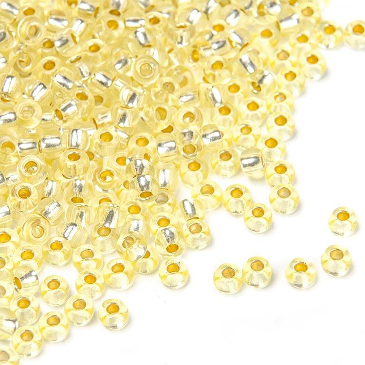 08283 чешский бисер Preciosa 5г  желтый
