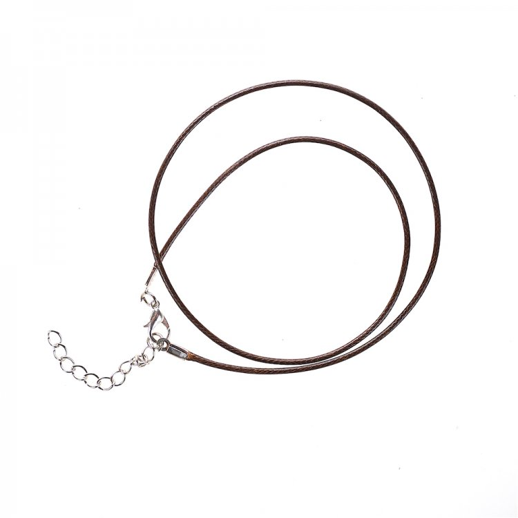 Основа для підвіски темно-коричнева бавовна і поліестер з блиском 1,5 мм