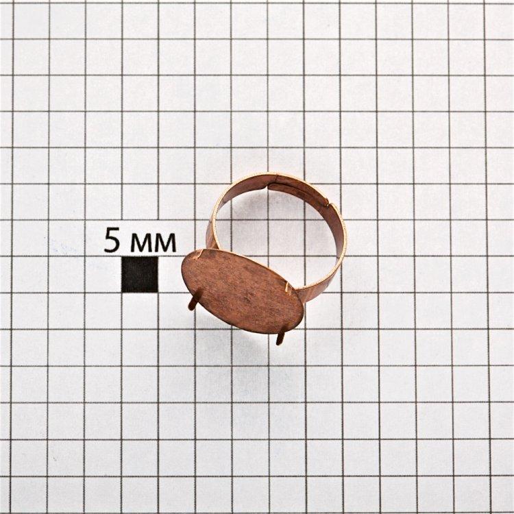 Основи для кілець. Мідний. Розмір 18 мм