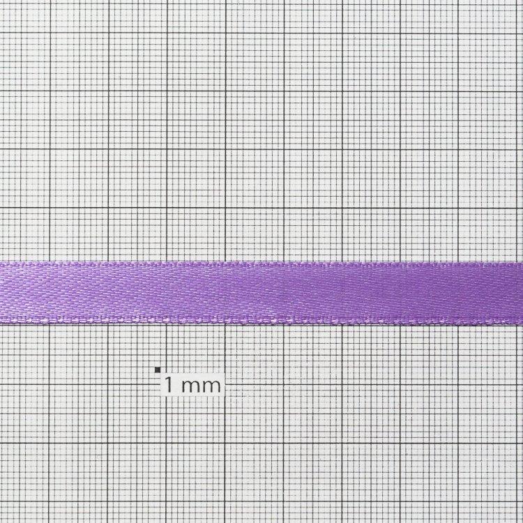 Стрічка атласна 10 мм бузкова