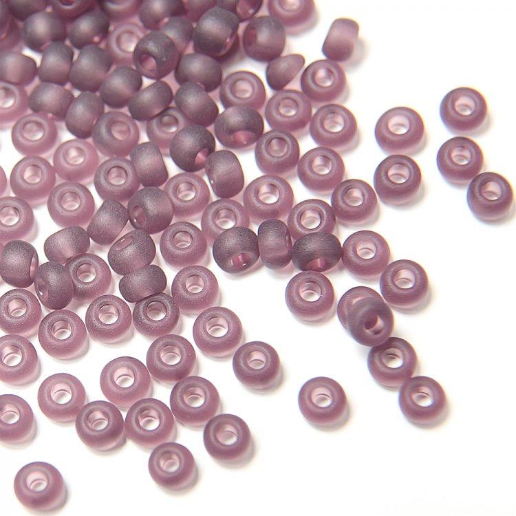 20060/1 чешский бисер Preciosa 5г фиолетовый/сиреневый