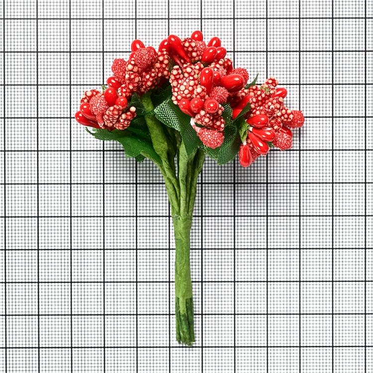 Декоративний елемент червоний