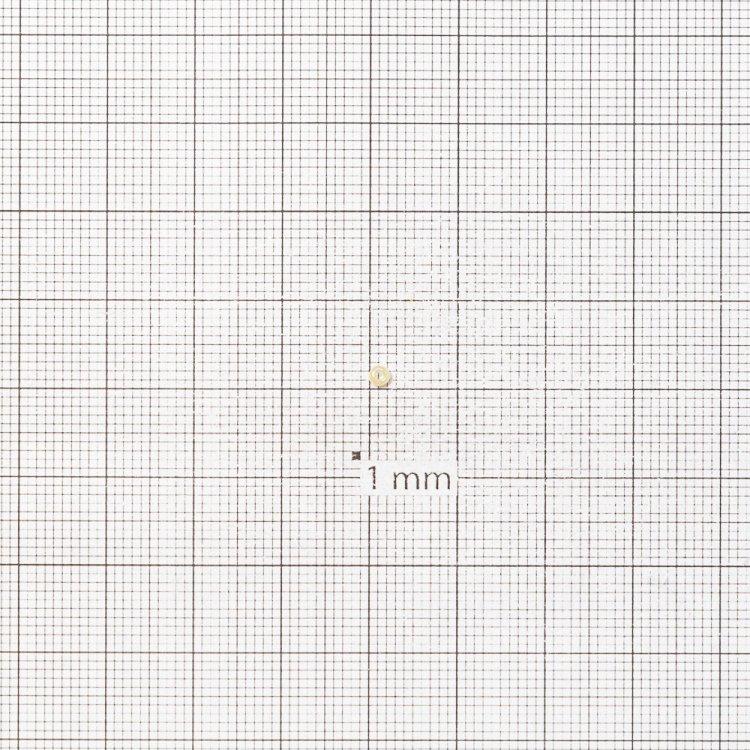 Бисер калиброванный. Кремовый. Калибр 12 (1,8 мм)