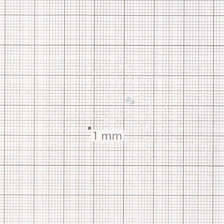 Бисер-рубка прозрачный 2.1 мм стекло
