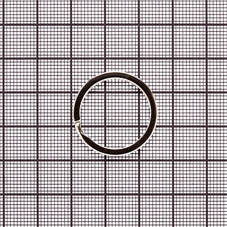 Кольцо для брелка мельхиоровое
