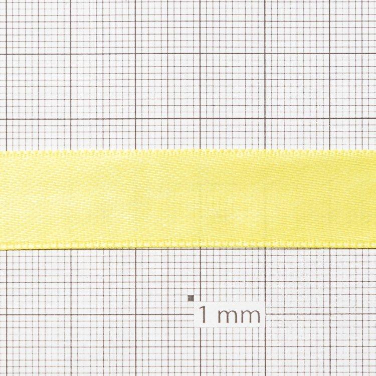 Стрічка атласна 14 мм жовта