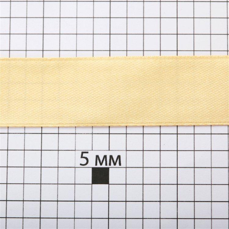 Стрічка атласна 20 мм колір золото