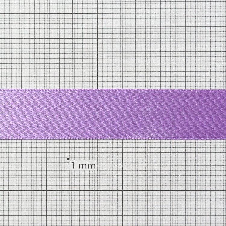 Лента атласная 20 мм сиреневая