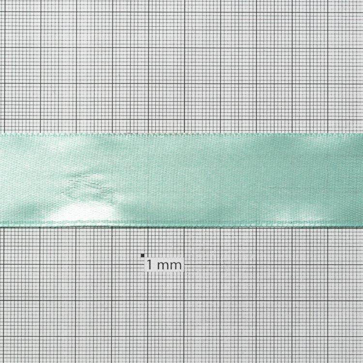 Лента атласная 25 мм бирюзовая