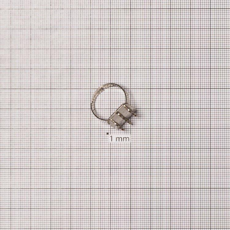 Основы для колец. Мельхиор. Диаметр 18 мм.