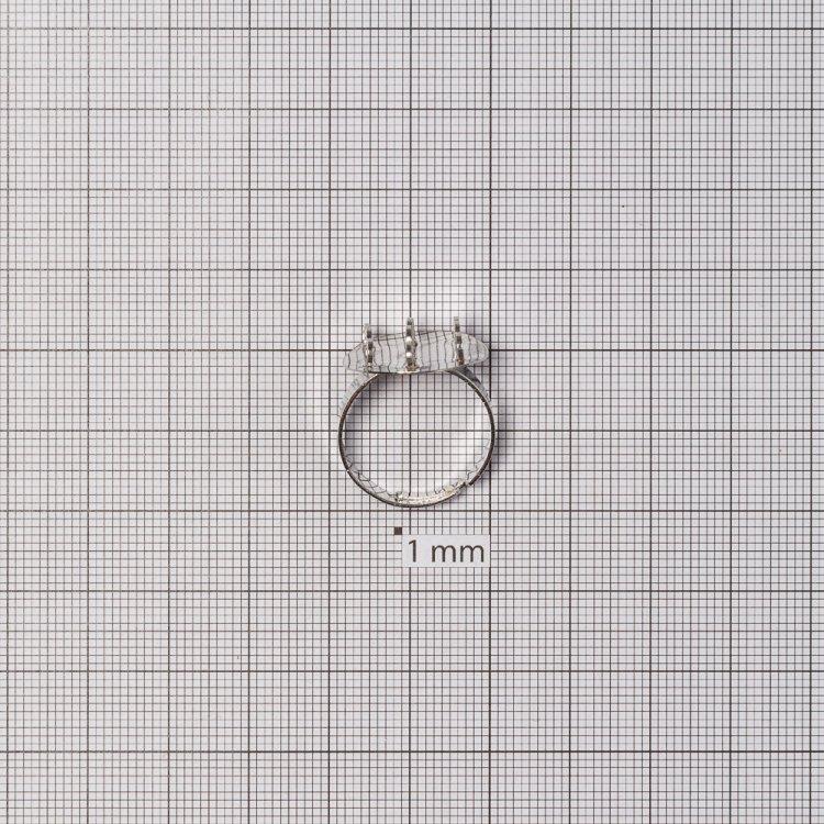 Основы для колец. Мельхиоровый. Диаметр 15 мм.