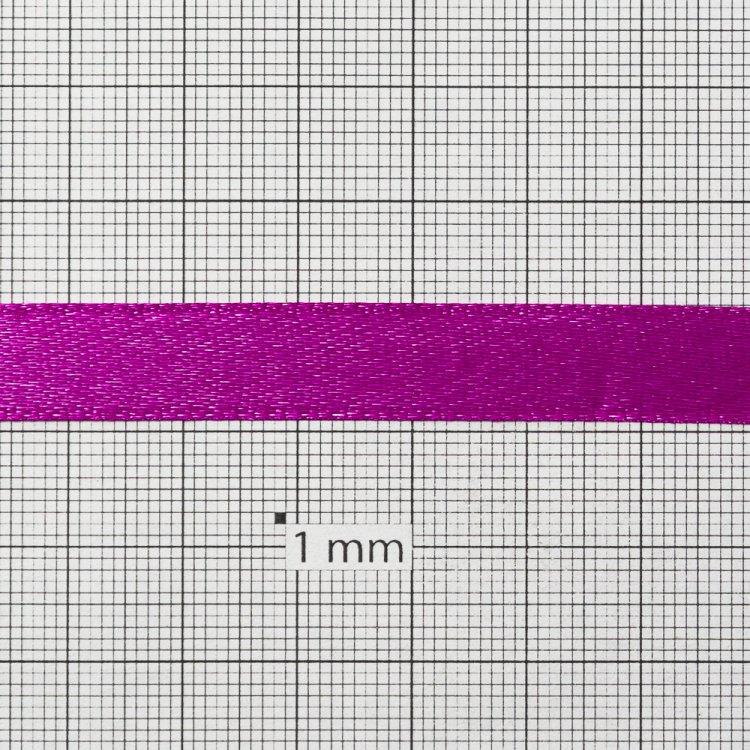 Лента атласная 10 мм фуксия