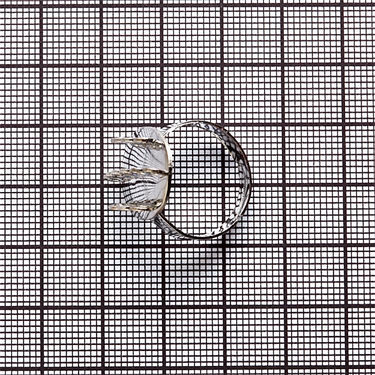 Основи для кілець. Мельхіоровий. Діаметр 20 мм.