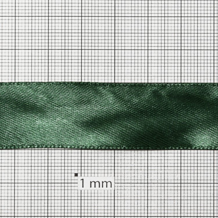 Стрічка атласна 20 мм зелена