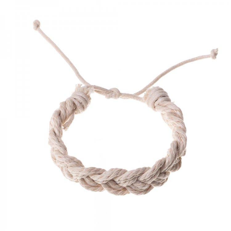 Плетенные браслеты из хлопкового шнура