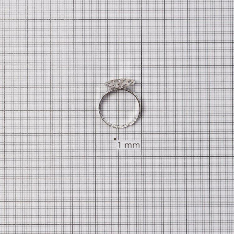 Основи для кілець. Мельхіоровий. Діаметр 14 мм