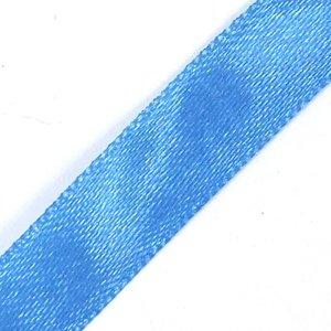 Лента атласная 10 мм синяя