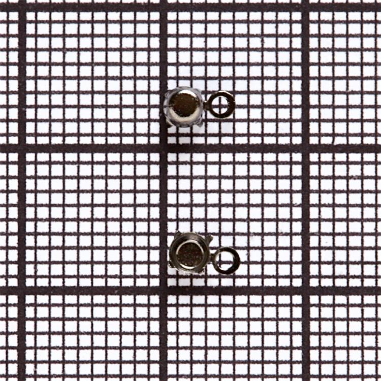 Основы для страз конических. Темно-стальной. Диаметр 3 мм