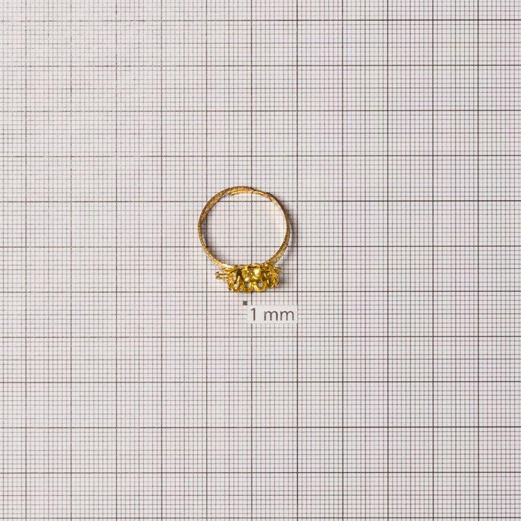 Основа для кольца. Золото.