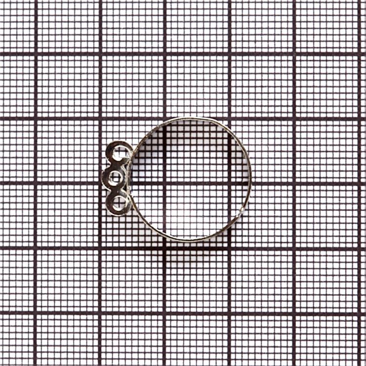 Основи для кілець. Мельхіоровий. Діаметр 20 мм