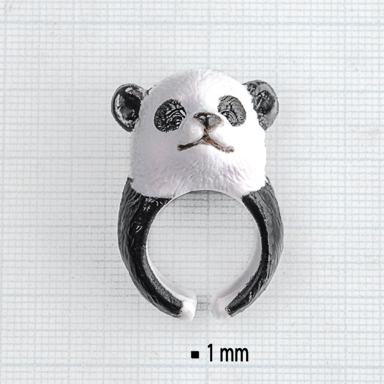 """Пластикове кольцо """"Панда"""""""