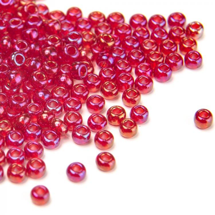 91090 чешский бисер Preciosa 5г  красный