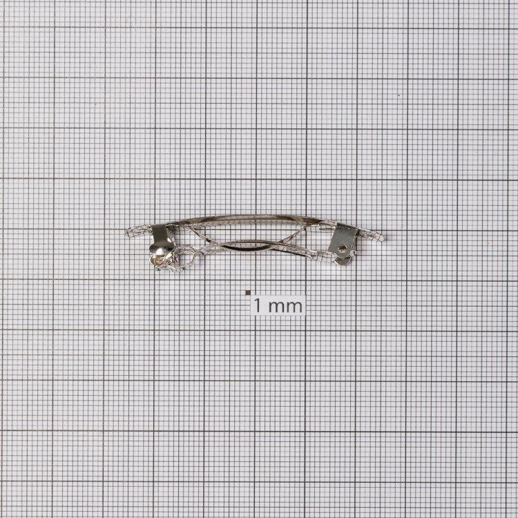 Основи для шпильок. Сріблястий.