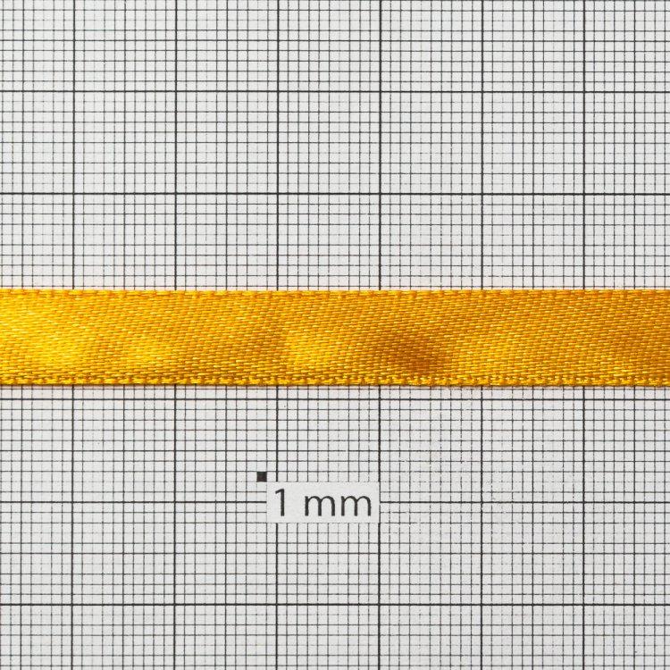 Стрічка атласна 10 мм помаранчева