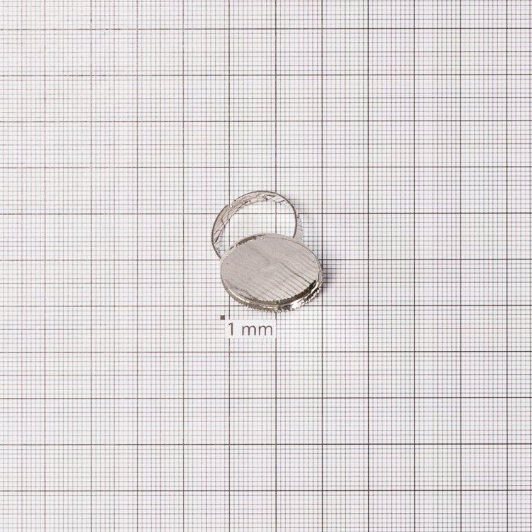 Основы для колец. Мельхиор. Размер 20 мм.