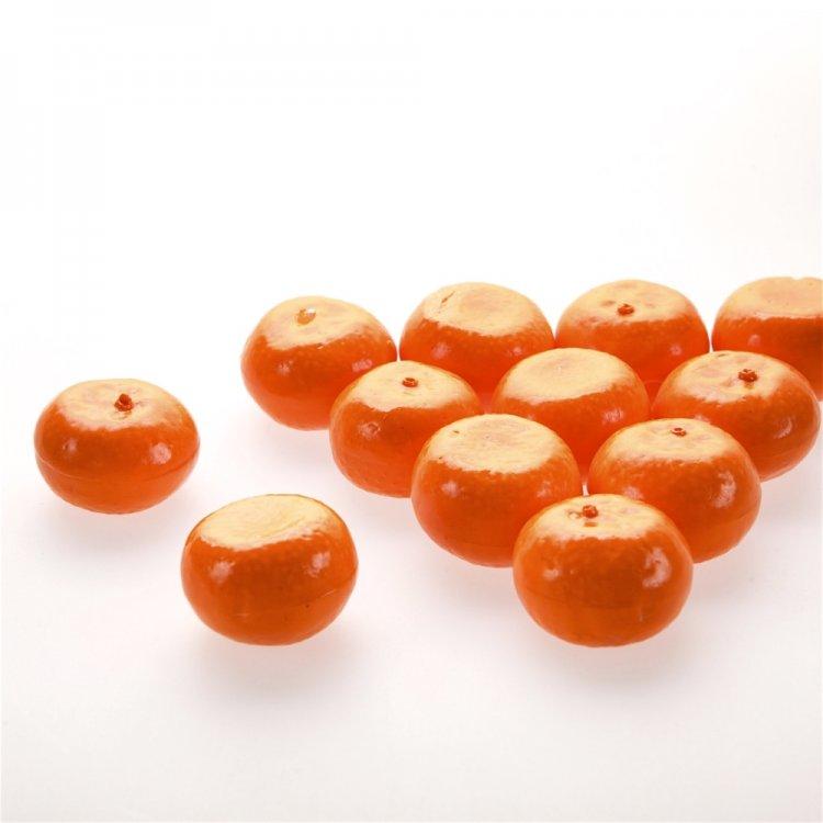 Декоративные элементы Мандарины, оранжевые