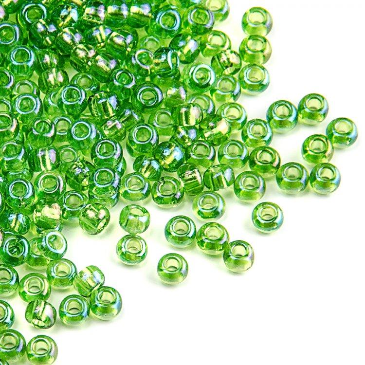 51430 чешский бисер Preciosa 5г  зеленый