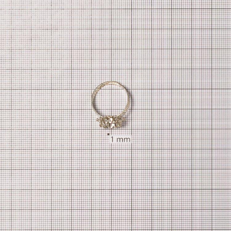 Основа для кільця. Мельхіор. Діаметр 18 мм.