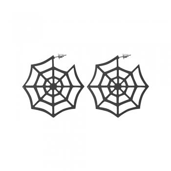 Серьги (пара) Паутинка