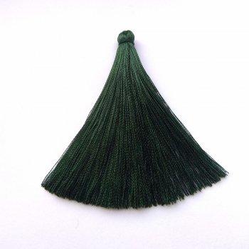 Текстильні китиці темно-зелені
