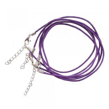 Основа шнур фиолетовая хлопок