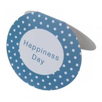 Листівка овальна Happiness Day