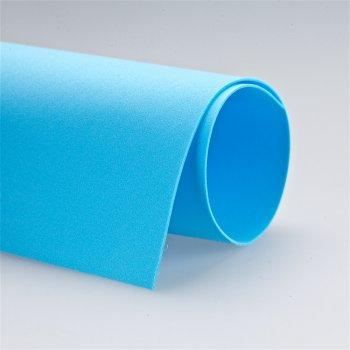 Фоаміран блакитний (Іран 017), А4, 1мм