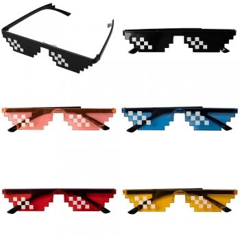 Солнцезащитные очки пиксельные