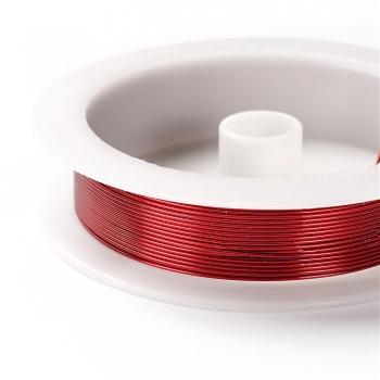Дріт мідний червоного кольору 0,8 мм