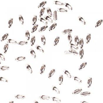 Застежки для цепочки. Мельхиоровый. Длина 11 мм, диаметр 3,5 мм.