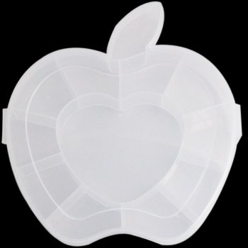 Контейнер пластиковий яблуко