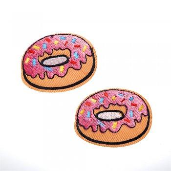 Тканевая нашивка Пончик