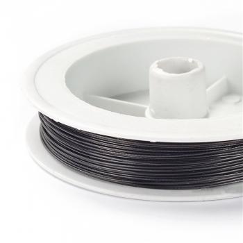 Металева волосінь Чорний. Діаметр 0,60 мм