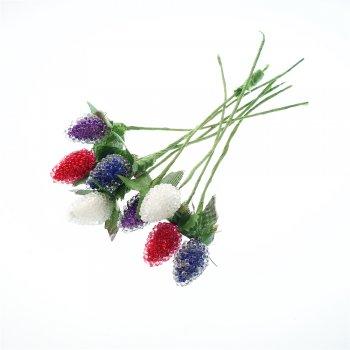 Декоративные элементы. Микс цветов. 22х14 мм