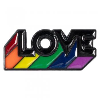 Значок пин Love