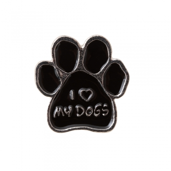 Значок пин I love my dogs
