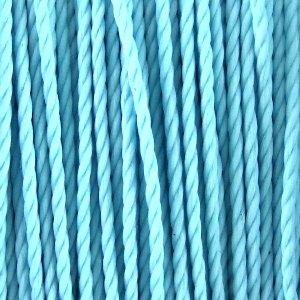 Нить полиэстеровая тайваньская голубая 1 мм