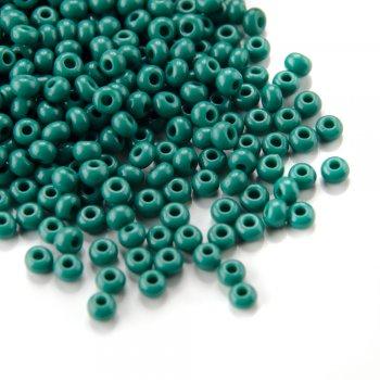 53240 чеський бісер Preciosa 5г зелений