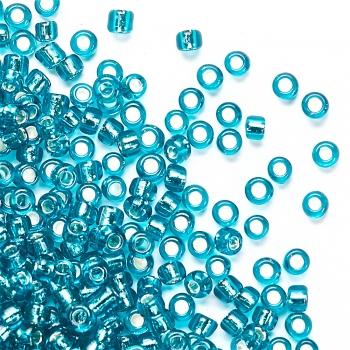 Бисер калиброванный сине-зеленый