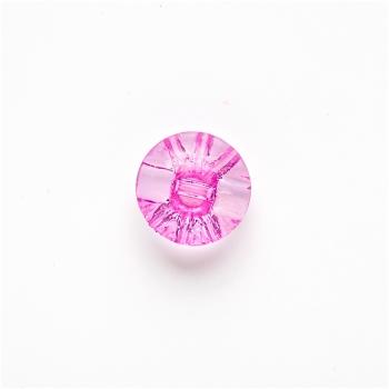 Пуговица пластиковая фиолетовая